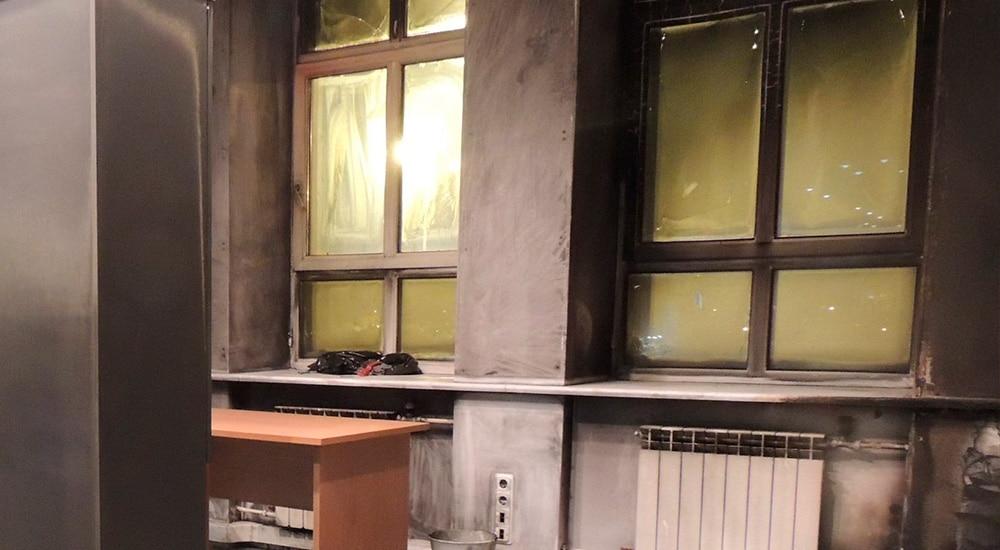 Клининг офиса после пожара в Санкт-Петербурге