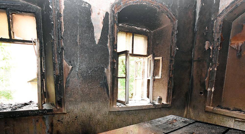 Восстановление после пожара квартир, домов, офисов